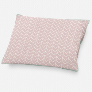 Almofada de cabeceira Ziggy Rosa Quartzo