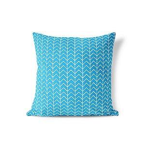 Capa de almofada Ziggy Azul Céu