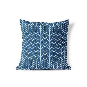 Capa de almofada Ziggy Azul Marinho