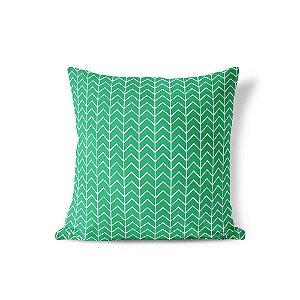 Capa de almofada Ziggy Verde