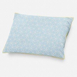 Almofada de cabeceira Lotus Azul Bebê
