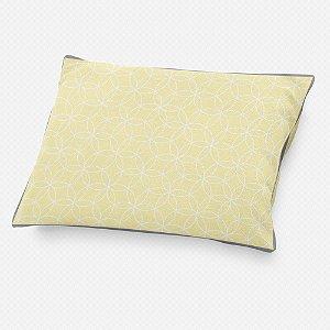 Almofada de cabeceira Lotus Amarelo bebê