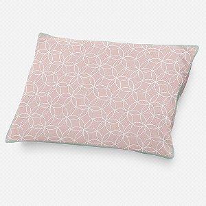 Almofada de cabeceira Lotus Rosa Quartzo