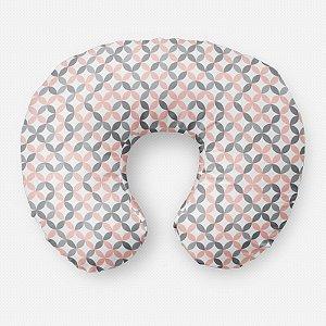 Almofada de amamentação Circles Quartzo