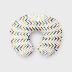 Almofada de amamentação Rainbow Dots