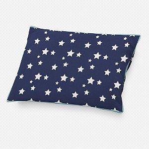 Almofada de cabeceira Azul Marinho com Estrelas