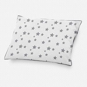 Almofada de cabeceira Estrelas Cinza