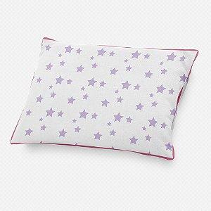 Almofada de cabeceira Estrelas Lilás