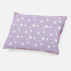 Almofada de cabeceira Lilás com Estrelas