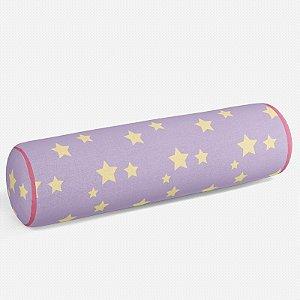 Rolo peseira Lilás com Estrelas 2