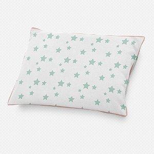 Almofada de cabeceira Estrelas Menta