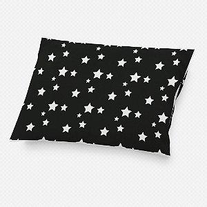 Almofada de cabeceira Preta com Estrelas