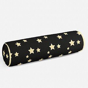 Rolo peseira Preto com Estrelas 2