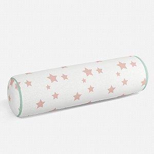 Rolo peseira Estrelas Rosa Quartzo