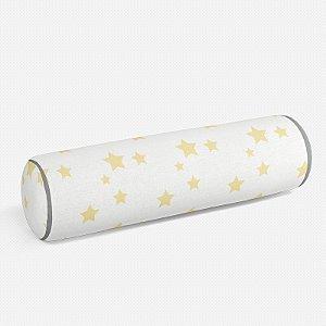 Rolo peseira Estrelas Amarelo bebê