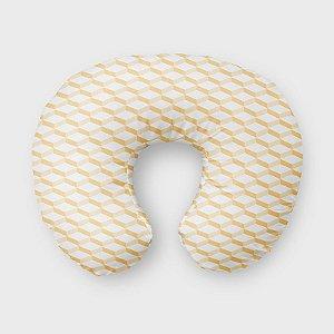 Almofada de amamentação 3D2 Amarelo Bebê