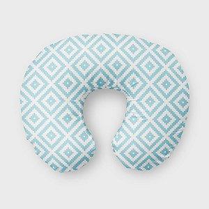 Almofada de amamentação Aztec Azul Bebê
