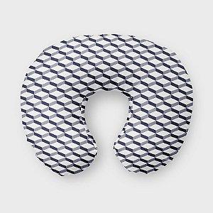 Almofada de amamentação 3D 2 Azul Marinho
