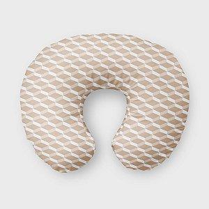 Almofada de amamentação 3D Bege