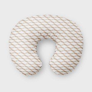Almofada de amamentação 3D 2 Bege
