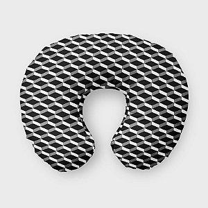 Almofada de amamentação 3D Preto