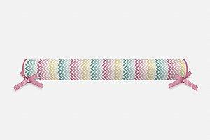 Rolo lateral para cama montessoriana Candy Chevron