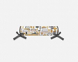 Rolo cabeceira e peseira para cama montessoriana Construção