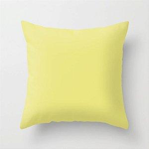 Capa de almofada Lisa Amarelo Citric 40x40 ~ OUTLET