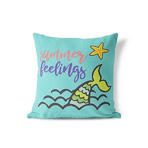 Capa de almofada Summer Feelings 40x40 ~ OUTLET