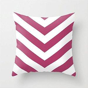 Capa de almofada V Rosa Escuro 50x50 ~ OUTLET
