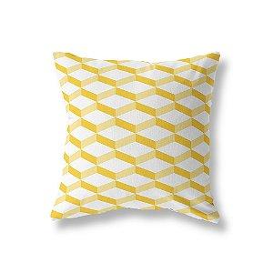 Capa de almofada 3D 2 Amarelo