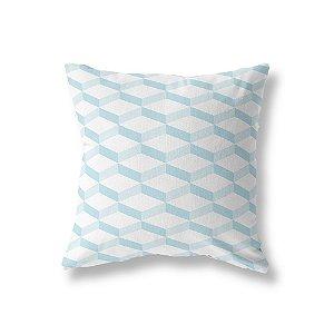 Capa de almofada 3D 2 Azul Bebê
