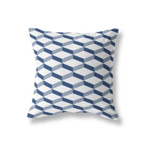 Capa de almofada 3D 2 Azul Marinho