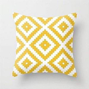 Capa de almofada Aztec Amarelo