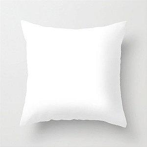Capa de almofada Lisa Branca