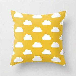 Capa de almofada Céu Amarelo