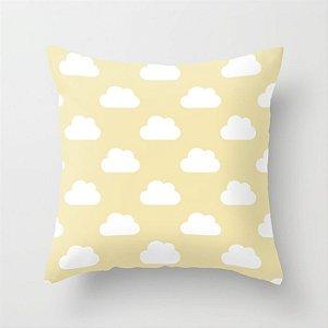 Capa de almofada Céu Amarelo Bebê