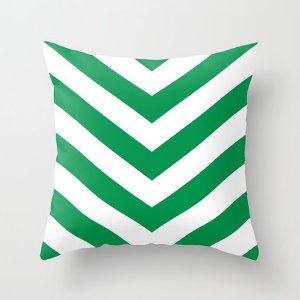 Capa de almofada V Verde