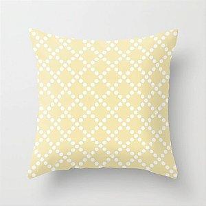 Capa de almofada Pearl Amarelo bebê