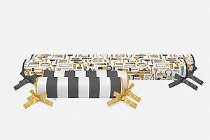 Kit rolos para cama Montessoriana Construção (vários tamanhos)