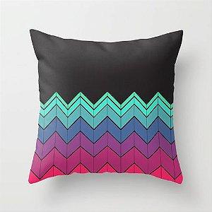 Capa de almofada Zig Zag Colors