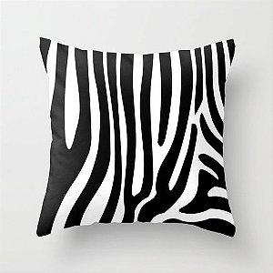 Capa de almofada Zebra