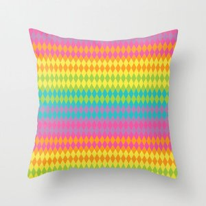 Capa de almofada Rainbow Balloons