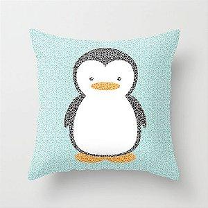 Capa de almofada Pinguim
