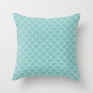 Capa de almofada Escamas Tiffany