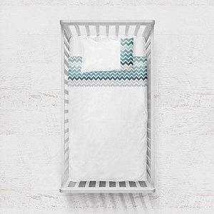 Jogo de lençol Bruma Chevron