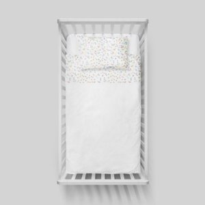 Jogo de lençol Confetti Colorido