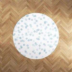 Playmat Confetti Azul redondo