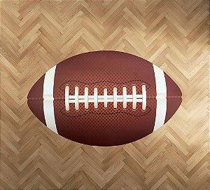 Tapete emborrachado bola de Futebol Americano