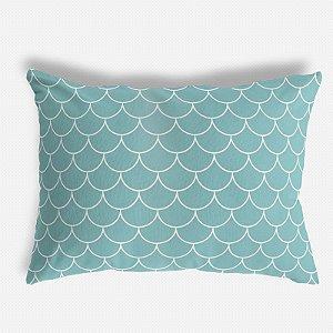 Capa de travesseiro Escamas Tiffany
